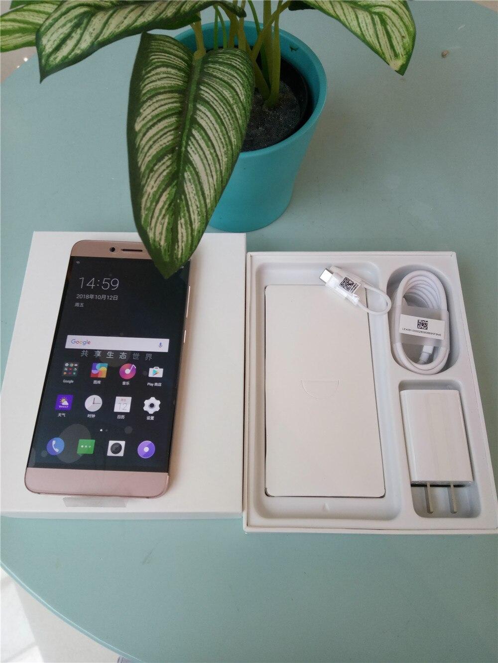 LeEco LETV LE 2 PRO X620 4 gb RAM 32 gb ROM Helio X20 MTK6797 Deca Core 5.5 pouce Dans cellulaire Écran FHD Android 6.0 4g LTE Smartphone