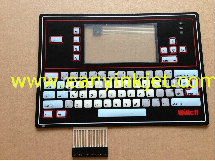 WELLET keyboard WELLET 43S inkjet keyboard display for WELLET 43S inkjet printer