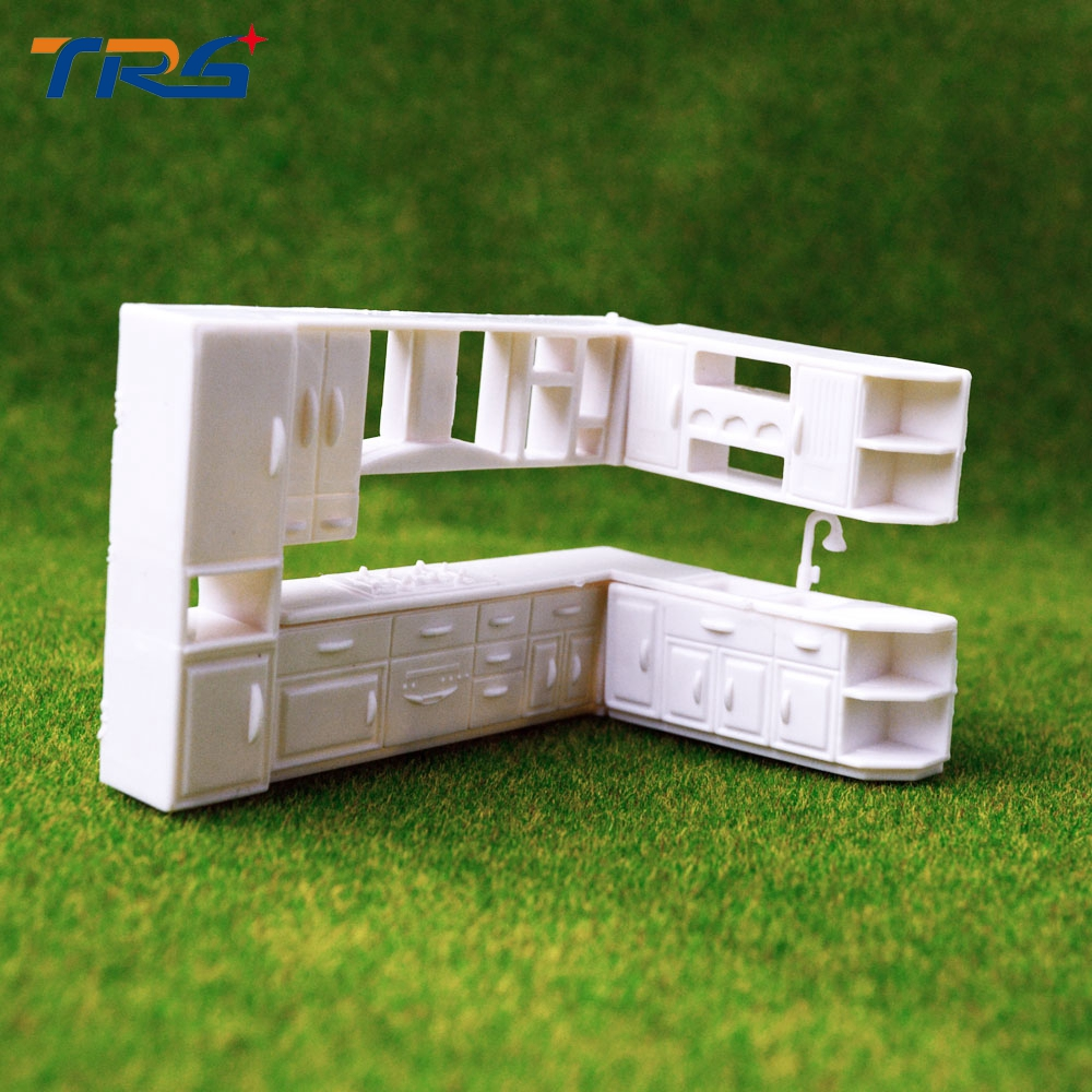 1;50 Kitchen Cabinet Scale Model Plastic White Color Miniature Scale Model  Kitchen Cabinet In Model Building Kits From Toys U0026 Hobbies On  Aliexpress.com ...