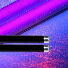 2-pacote t5 blb-4/6/8 watts compacto fluorescente em linha reta preto luz azul substituir tubo de luz g5 bi-pino duplo terminado