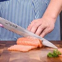 8 Chef Knife Kitchen Japanese Sashimi Knife Filleting Sushi Knives Stainless Steel Germany Import Steel Kitchen Knife Fish Tool