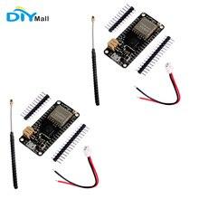 2pcs/lot 868MHz 915MHz LoRa32u4 II Development Board Lora Module IOT SX1276 HPD13 + PCB Antenna JST Battery Cable