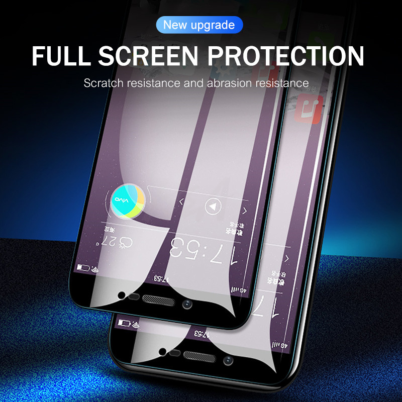 Image 3 - H&A 3Pcs Protective Glass for Xiaomi Mi A2 Lite A2 Screen Protector 9H Anti Scratch 2.5D Tempered Glass for Xiaomi MI A2Lite A2-in Phone Screen Protectors from Cellphones & Telecommunications