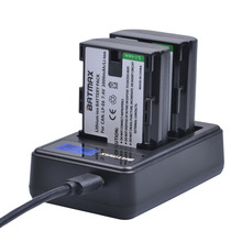 LCD Dual USB Battery Charger for LP-E6 LP E6 LPE6 Canon 5D Mark II III 7D 60D EOS 6D 70D 80D Cameras