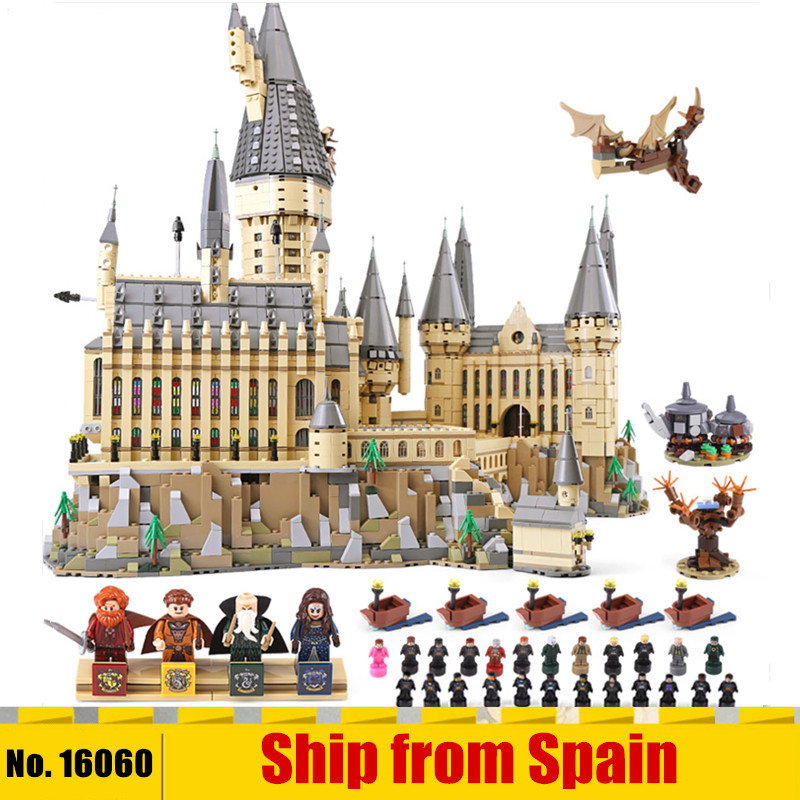 DHL 16060 Magic Movie Toys Compatible With 71043 Magic Castle School Set Building Blocks Bricks Kit Assembly Kids Toys Gifts