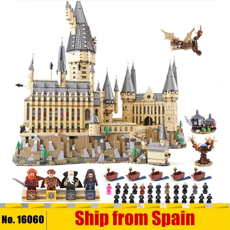 DHL 16060 magique film jouets Compatible avec 71043 magique château école ensemble blocs de construction briques Kit assemblage enfants jouets cadeaux