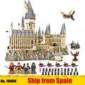 Juguetes de película mágica de DHL 16060 compatibles con el juego de bloques de construcción de la escuela del castillo mágico de 71043, juego de ensamblaje de juguetes para niños, regalos