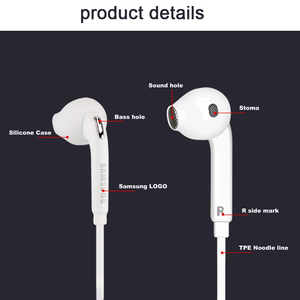 Image 3 - Samsung EG920 Wired Earphone White Black with 3.5mm In Ear Plug Speaker Microphone Headset for Xiaomi Huawei