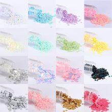 10 g/paket 2-6mm çok boyutlu düz yuvarlak gevşek payetler zanaat PVC mat ve dondurma pullu Paillettes dikiş düğün elbisesi aksesuarları