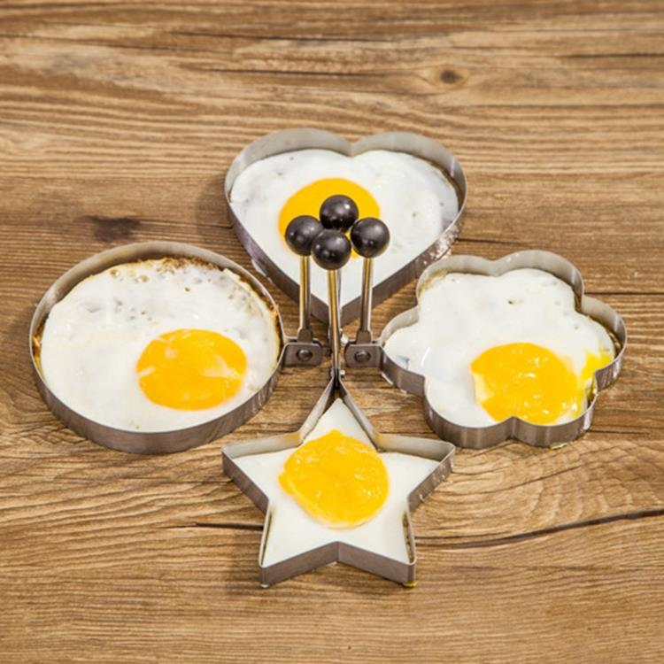 Aliexpress.com : Buy 4pcs Form For Eggs, Stainless Steel Fried Egg ...