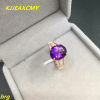 KJJEAXCMY Fine Jewelry 925 Silver Inlaid Natural Freshwater Pearl Two Finger Ladies Ring