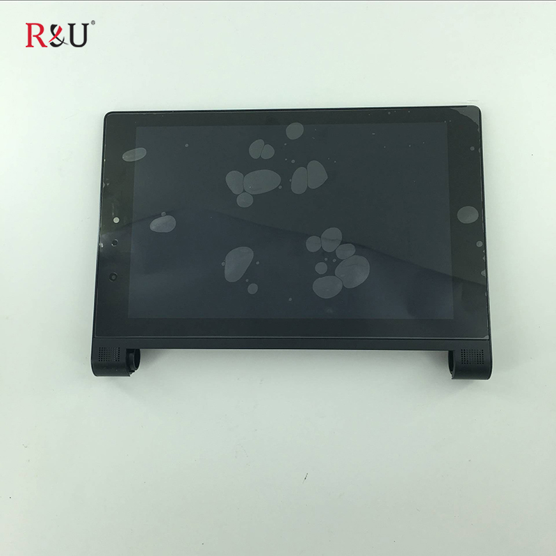 8 LCD Display Screen Touch Screen Panel Digitizer Sensor Assembly + black Frame replacement for Lenovo Yoga Tablet 2 830 830F delicate solid color infinity anklet for women