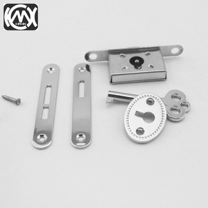 Image 5 - 10pcs KIMXIN spot sales Silver High grade woodenbox lock Jewelrybox hardware accessories Lock for Cigarbox gift box  W 018