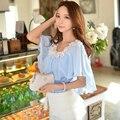Dabuwawa romantic chiffon blouse