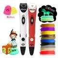 Dikale 3D Drawing Pen 7th Generation 3D Printer Pen Pencil Stencil 3D Stift Drucker eBook Refill PLA Filament Kid Adult DIY Gift