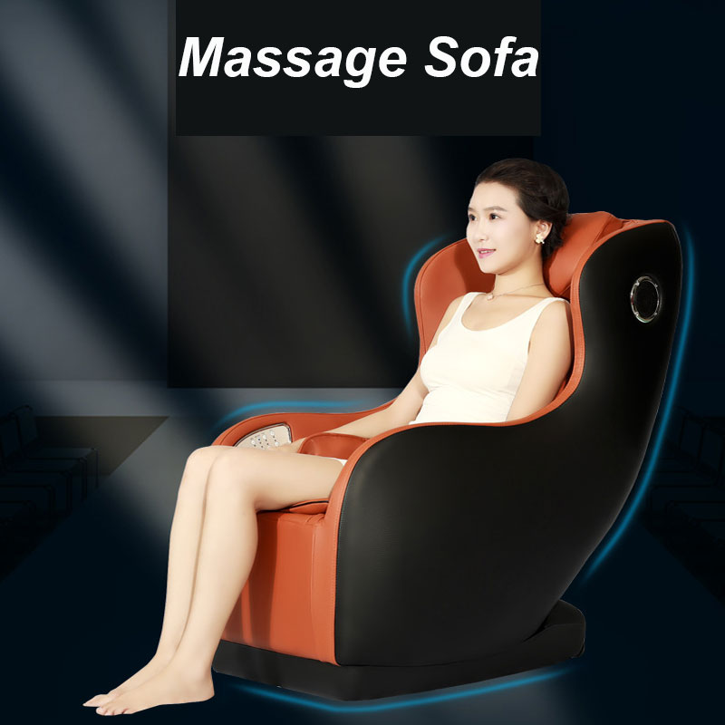 Massage Chair Home Automatic Full Body Kneading Multi-Function Capsule Electric Massage Sofa Music Function 12V