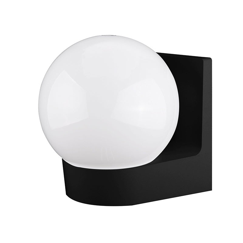 Wall light fixture led e27 waterproof wall lamp led lights for home decoration wall light ball shape indoor outdoor AC85 265V in Wall Lamps from Lights Lighting