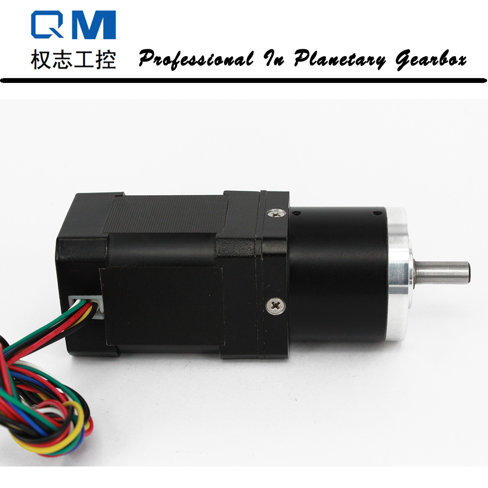 Brushless dc motor nema 17 60 W 24 V redução planetária caixa de velocidades proporção 20:1 engrenagem do motor bldc