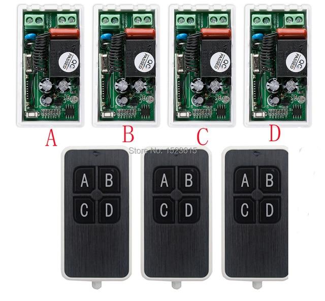 most simple wiring ac220v 1ch 10a wireless remote control switch rh aliexpress com Gatehouse Remote Controls Vintage TV Remote Control