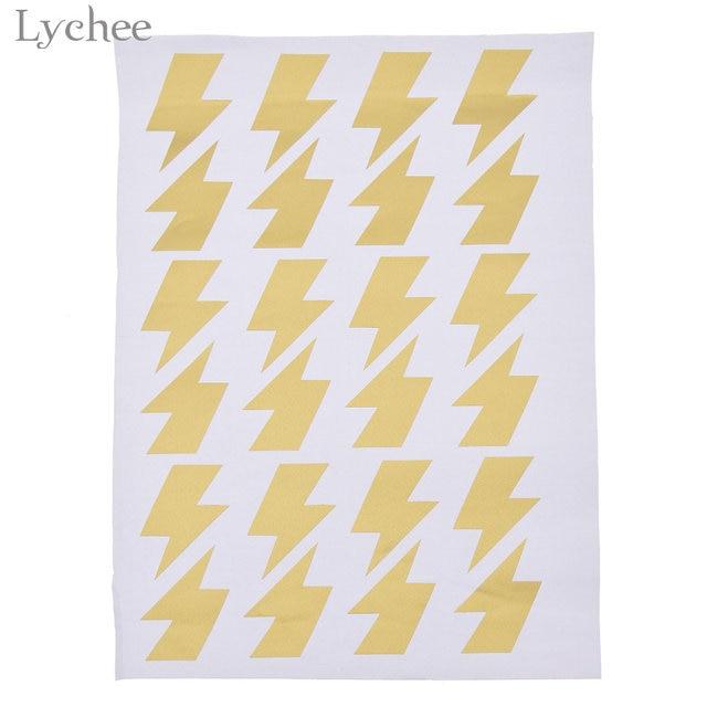Online Shop Lychee 1 Sheet Little Lightning Wall Sticker Wall Decal ...