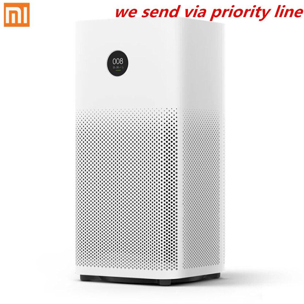 Оригинальный Xiao mi Smart очиститель воздуха 2 s OLED дисплей смартфон mi Home приложение управление дым пыли специфический запах очиститель