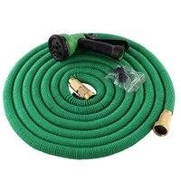 Magic flexible hose Expandable Garden Hose reels Garden Water Hose Car Pipe watering connector Blue Green 50FT