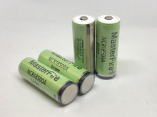 MasterFire New Version 100% Original For Panasonic 3.7V 18500 NCR18500A 2040mAh Rechargeable Lithium Protected Battery wtih PCB цена и фото