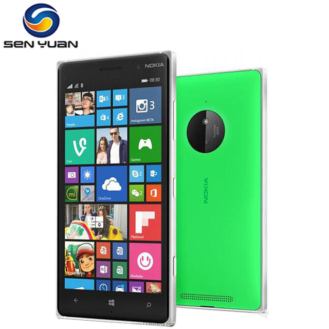 unlocked nokia lumia 830 t l phone mobile 5 0 cran. Black Bedroom Furniture Sets. Home Design Ideas