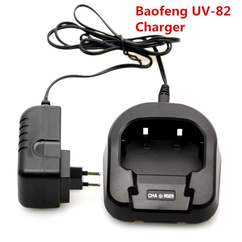 Originele CH-8 EU of VS 100-240 V Baofeng Li-ion Batterij Desktop Lader Voor bf UV-82 UV-89 UV-8D Radio Walkie Talkie Accessoires