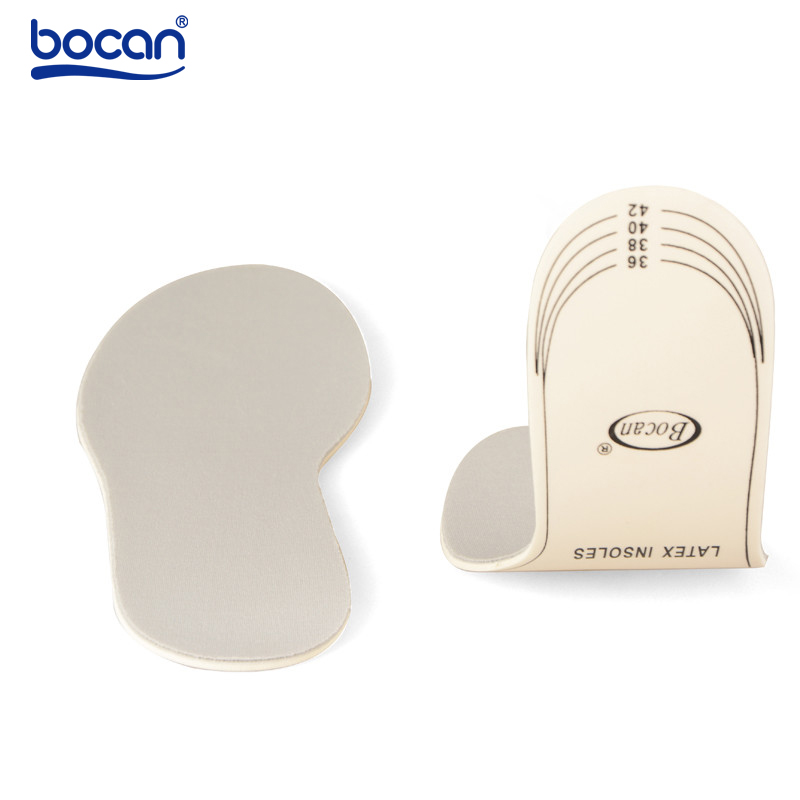 Bocan latex insoles shock absorption insoles sweat absorbing breathable insoles for men and women shoe 6006 bocan insoles for sport shock absorption orthopedic shoe insoles light weight breathable for men women