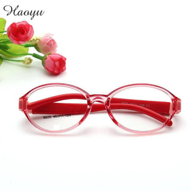 haoyu Plastic Titanium Optical Glasses FULL Frames Boy Girl Colorful ...