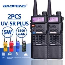 Buy 2pcs Baofeng UV-5R 5W 3800mAh Long Standby Battery Walkie Talkie UV 5R UHF VHF Dual Band Portable Hf Two Way Radio Station UV5R directly from merchant!