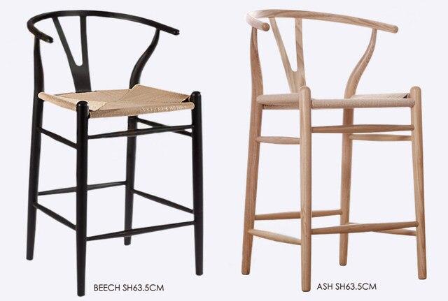 Sitzhhe Cm Massivholz Moderne Design Barhocker Hocker Mode Beliebte Holz  Barhocker Kche Zimmer Hoher Hocker With Holz Barhocker