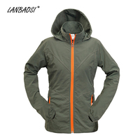 Hot Light Weight Women S Adventure Hiking Camping Windbreaker Quick Dry Breathable Convertible Climbing Jacket