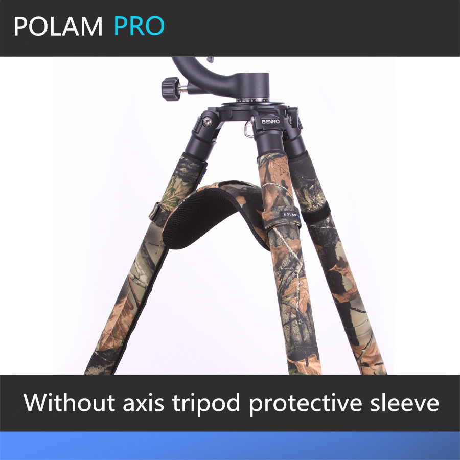 ROLANPRO No Axis Tripod Special Shoulder Pads Protective Sleeve Sets of Feet Tripod Shoulder Pads Camera
