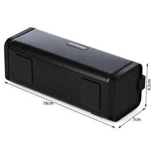 Image 4 - TOPROAD ポータブル 10 ワット Bluetooth スピーカー Hifi ワイヤレスステレオビッグパワーサウンドボックスサブウーファー列スピーカーサポート TF FM ラジオ AUX