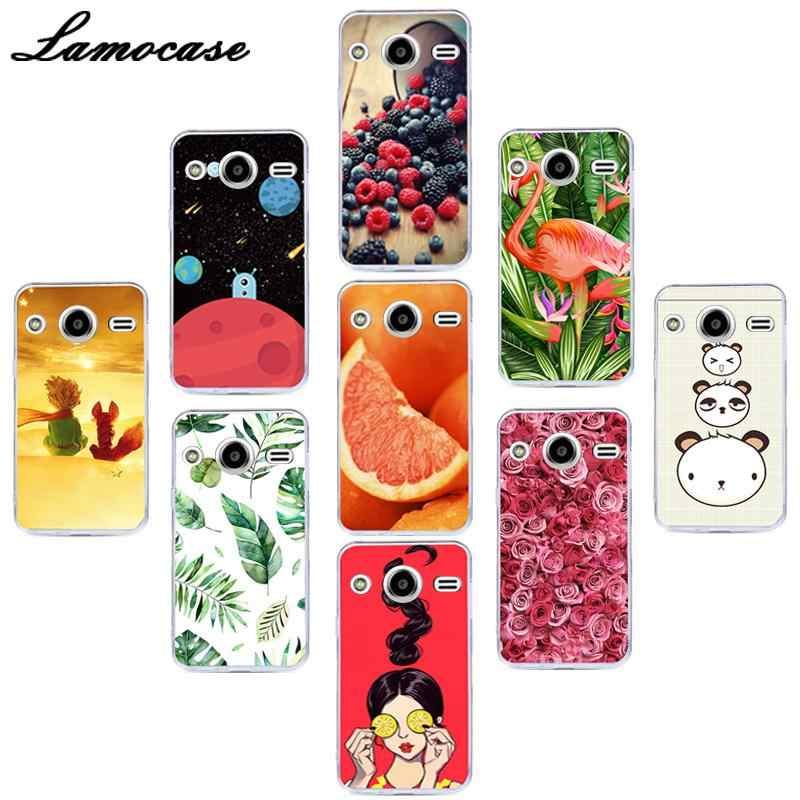 "Lamocase Silicon Phone Cover For Samsung Galaxy Core 2 Duos SM-G355H/DS SM-G355H/ G355M SM-G355h/ds Duos 4.5"" Back Case Covers"