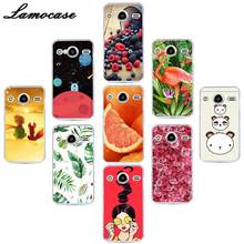 "Lamocase Silicon Phone Cover For Samsung Galaxy Core 2 Duos SM-G355H/DS SM-G355H/ G355M SM-G355h/ds Duos 4.5"" Back Case Covers(China)"