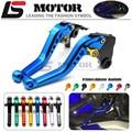 For Honda GROM CBR250R CBR300R/CB300F/FA CBR500R/CB500F/X CNC Adjuster Short Levers Motorcycle Brake Clutch Lever