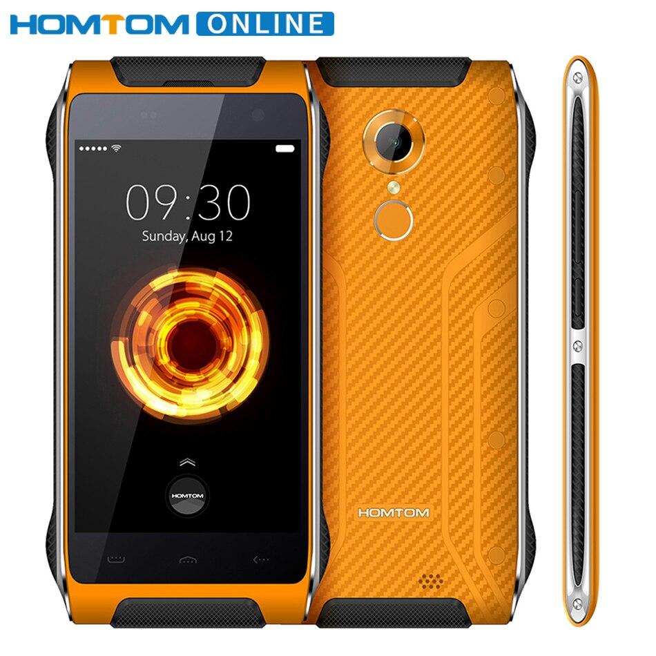 Original HOMTOM HT20 PRO MTK6753 Octa Core de Smartphones IP68 À Prova D' Água 4.7 Polegada 3G RAM 32G ROM 8.0MP 4G Fingerprint ID FDD-LTE