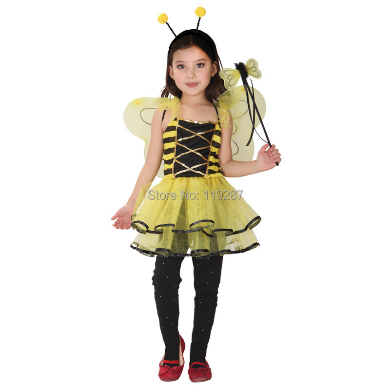 Retail Cute Ladybug fairy halloween costumes for kids girls dresses little girl Dragonfly dance costumesgirls princess costume-in Girls Costumes from ...  sc 1 st  AliExpress.com & Retail Cute Ladybug fairy halloween costumes for kids girls dresses ...