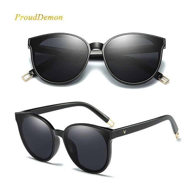 2018 Mode Femmes Couleur De Luxe Plat Top Cat Eye lunettes de Soleil  élégant oculos de sol hommes Double Faisceau surdimensionné lunettes de  Soleil UV400 802097d3e53d