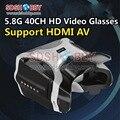 5.8 Г 40CH HD Head-носить Видео-Очки FPV Очки Headplay Очки SJ-V01