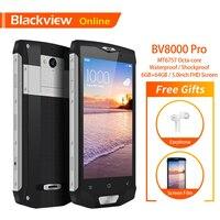 Blackview BV8000 Pro Original 5 IP68 Waterproof Rugged Smartphone 6GB+64GB Octa Core Fingerprint 4G Tough Outdoor Mobile Phone