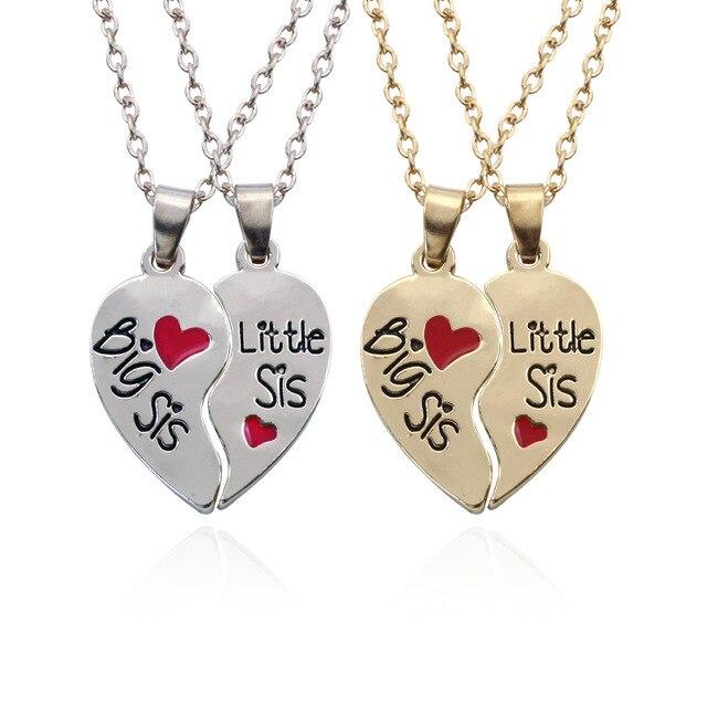 3c997426234f8 Best Big Sister Little Sister Necklaces Cheap
