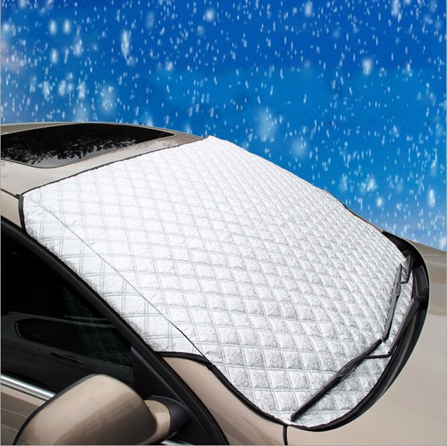 Winter universal Car covers Car Window Sunshade Auto Cover Sun Reflective Snow Shade Windshield for SUV and Ordinary Vehicles