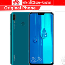 """DHL Fast Delivery HuaWei Y9 2019 Enjoy 9 Plus 4G LTE Cell Phone Android 8.1 6.5"""" IPS 2340X1080 6GB RAM 128GB ROM 4 Camera 3 Slot"""