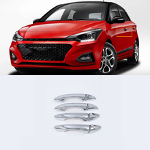 ABS Chrome Exterior car-styling accessories door handle cover right hand drive For HYUNDAI I20 high quality