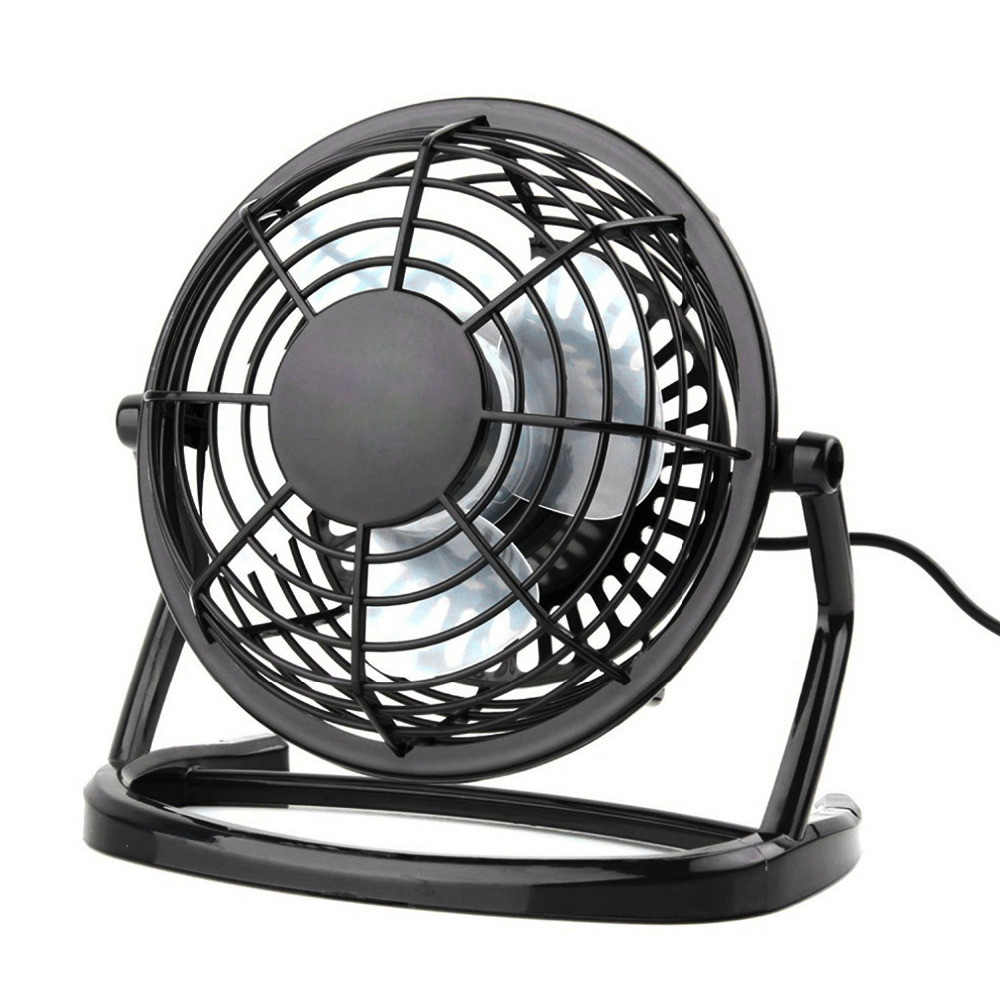 Ultra Quiet Mini 4 inch USB Fans Plastic Portable Small Desk Fan Powerful Wind For PC/Laptop/Notebook Popular In Summer for acer aspire v3 772g notebook pc heatsink fan fit for gtx850 and gtx760m gpu 100% tested