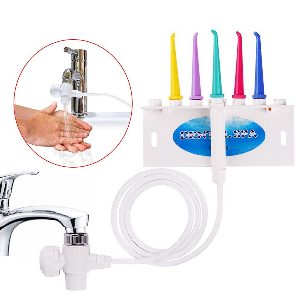 AZDENT Calda Dental Water Flosser Interdentale spazzolino Da Denti Flosser Dentale SPA Cleaner Getto Irrigatore Orale Denti Spazzolino di Pulizia